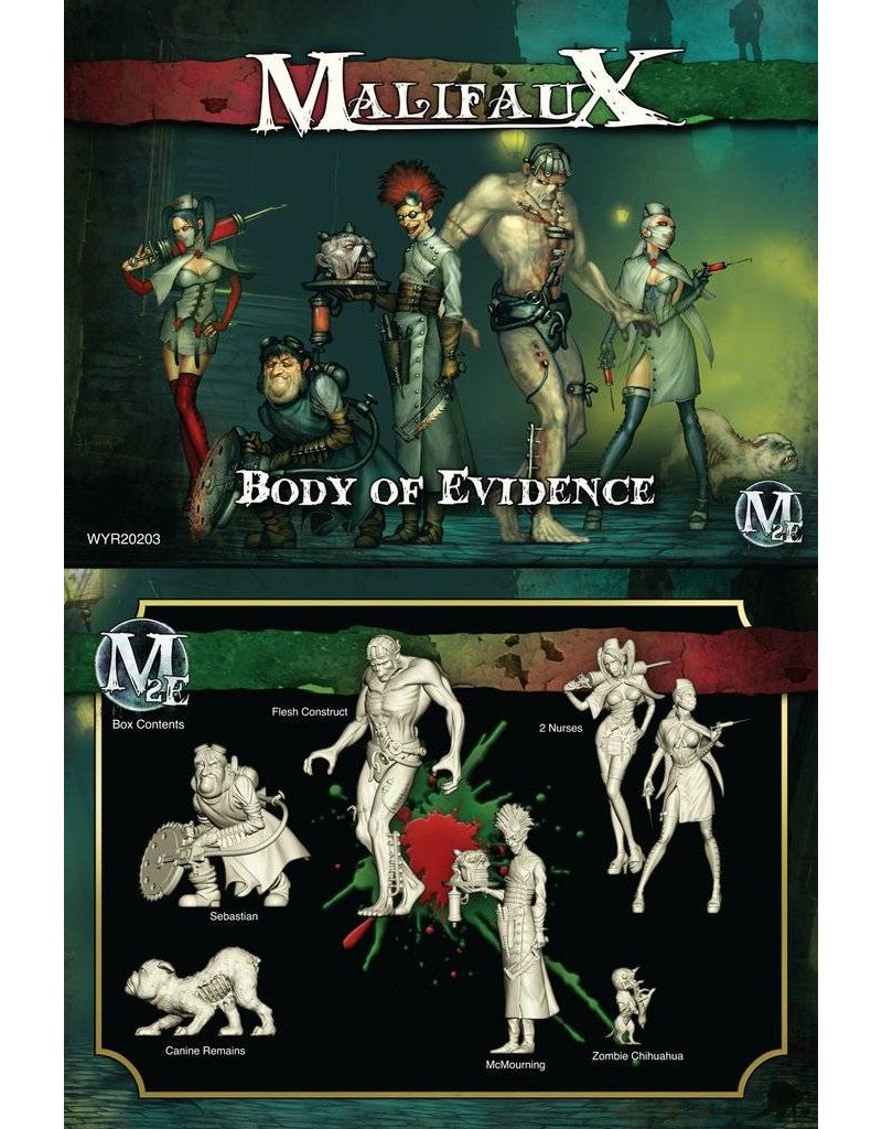 Wyrd Resurrectionists/Guild 'Body Of Evidence' - McMourning Box set