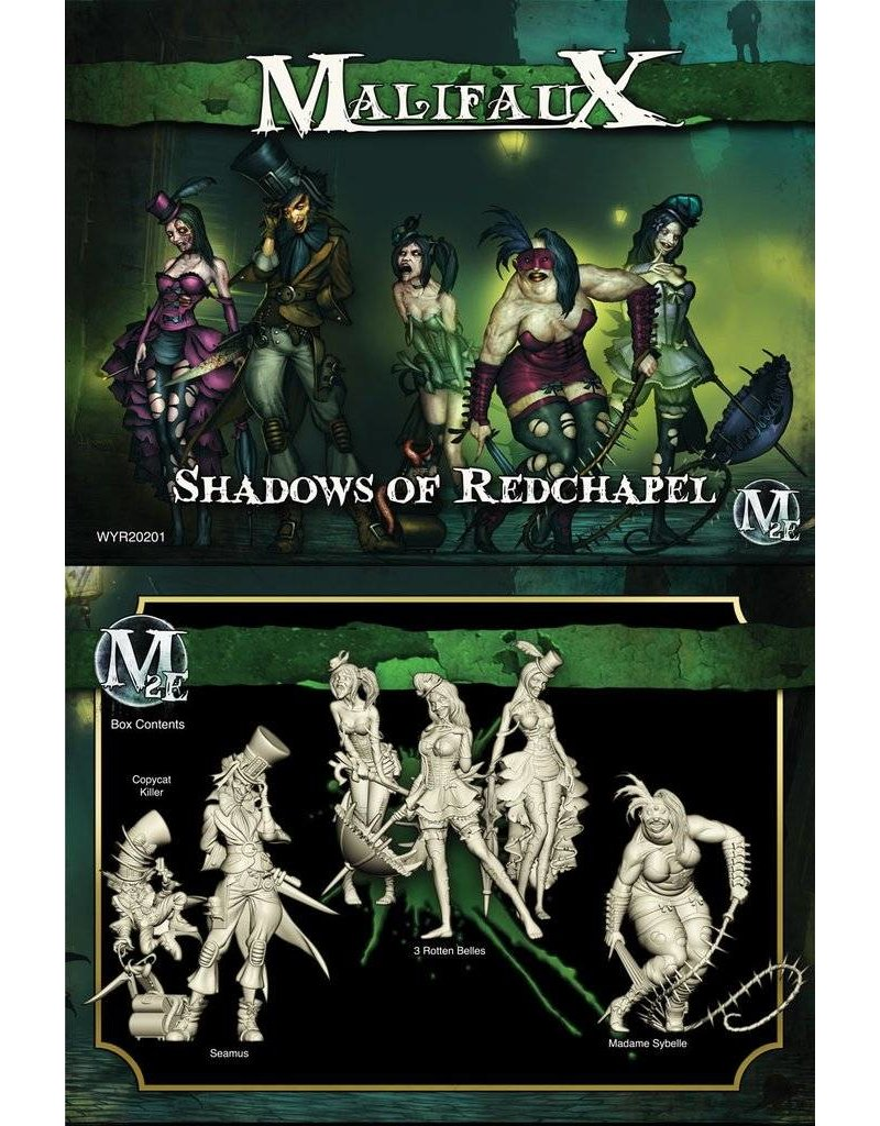 Wyrd Resurrectionists Shadows of Redchapel - Seamus Crew Box Set