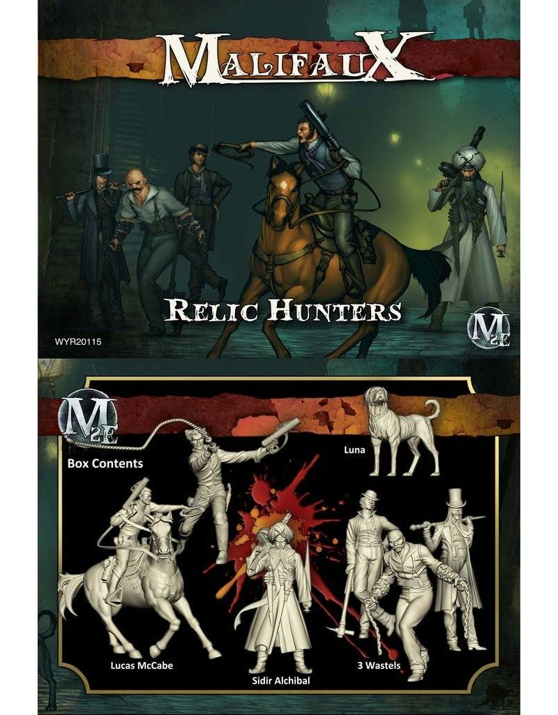 Wyrd Guild/Ten Thunders 'Relic Hunters' - Lucas McCabe Box set