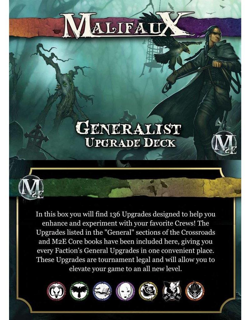 Wyrd Malifaux 2nd Edition: Generalist Upgrade Deck 1