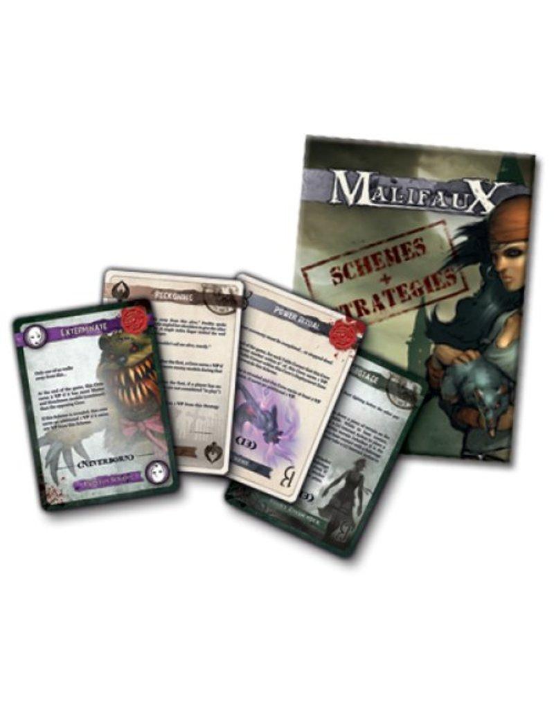 Wyrd Malifaux 2nd Edition Schemes and Strategies Deck