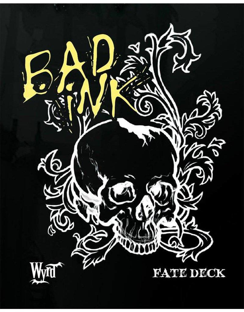 Wyrd Bad Ink Fate Deck
