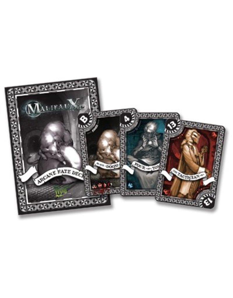 Wyrd Malifaux Arcane Fate Deck - Black