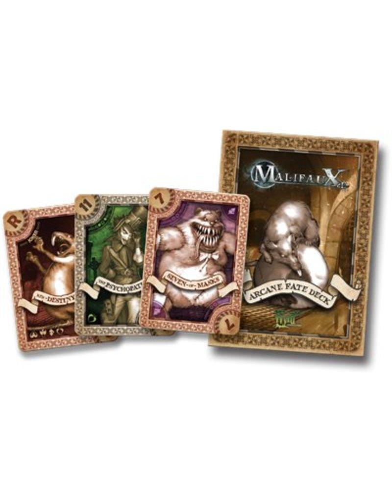 Wyrd Malifaux Arcane Fate Deck