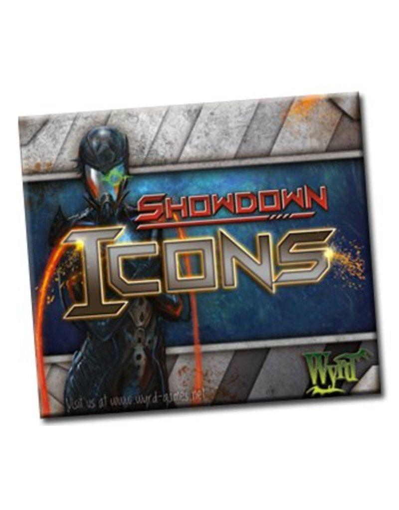Wyrd Showdown Icons Card Game