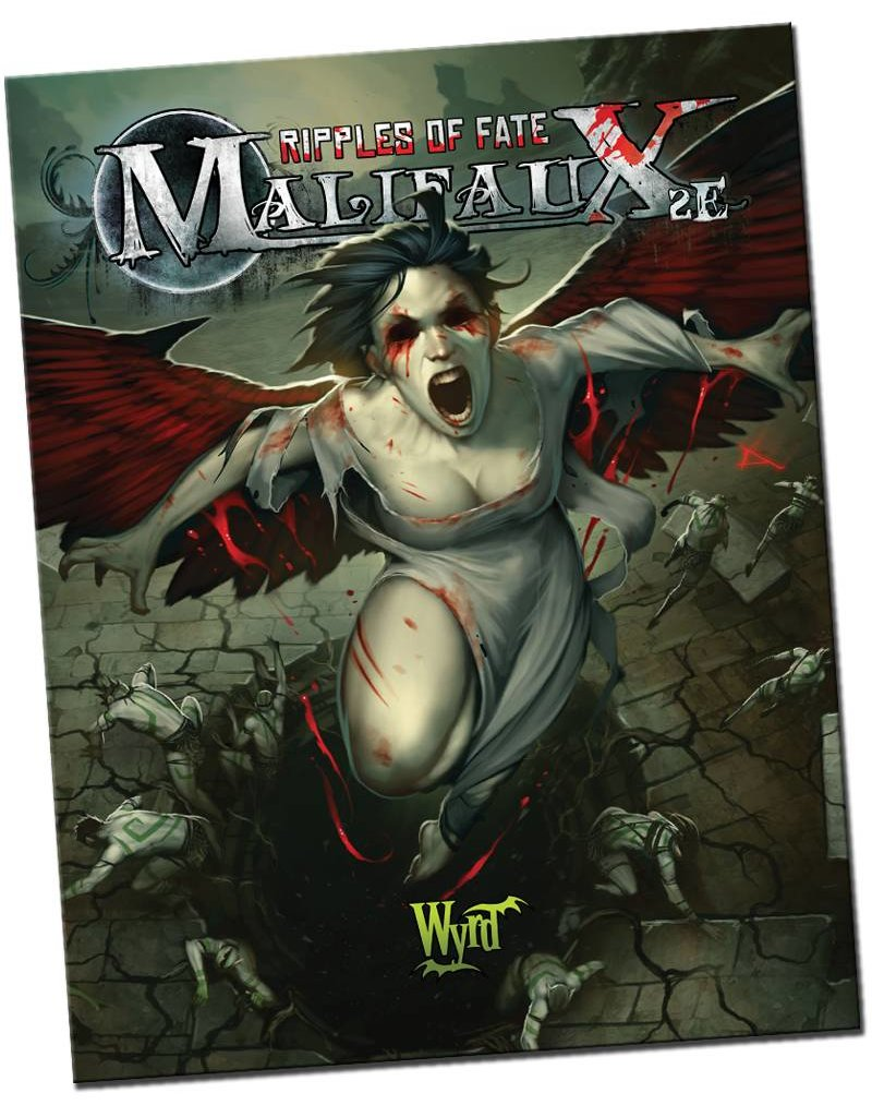Wyrd Malifaux Ripples of Fate 2nd Edition Rulebook Expansion