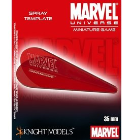 Knight MARVEL UNIVERSE SPRAY TEMPLATES