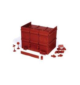 Mantic Games Red Brick Apartment Block