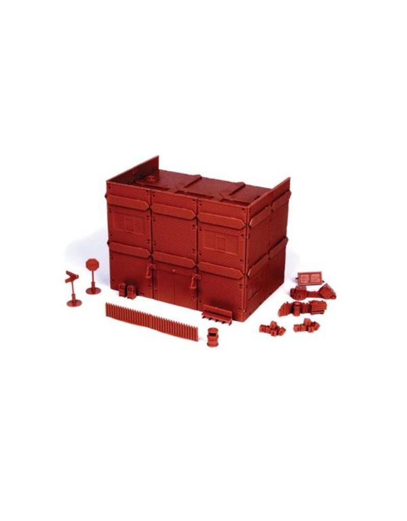 Mantic Games 20th Century Brick Apartment Block