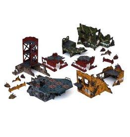 Mantic Games Battlezones: Sci-Fi Ruined Quadrant