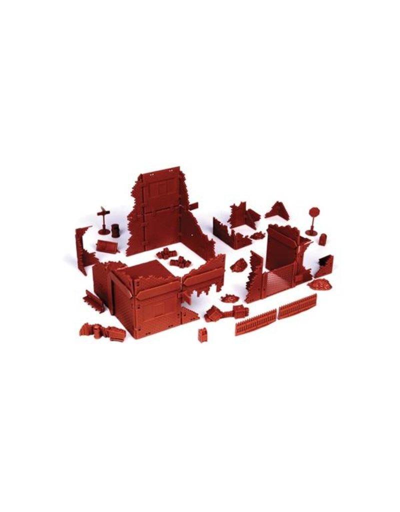 Mantic Games 20th Century Brick Ruined Village