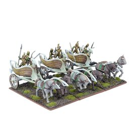 Mantic Games Elf War Chariot Regiment
