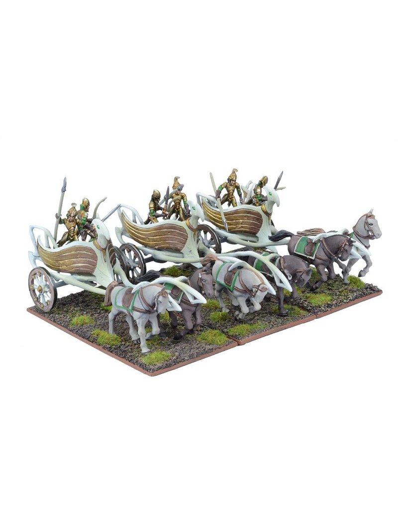 Mantic Games Elves: War Chariot Regiment
