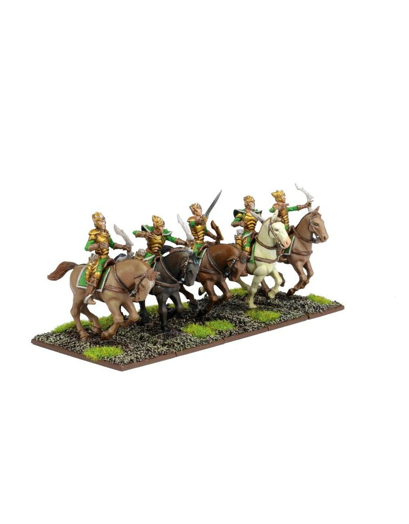 Mantic Games Elves: Silverbreeze Cavalry Troop