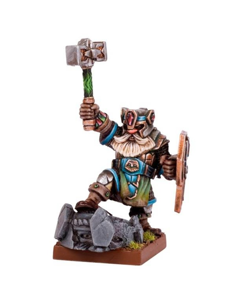 Mantic Games Dwarfs: Dwarf King