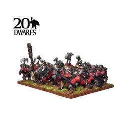 Mantic Games Dwarf ShieldBreaker Regiment
