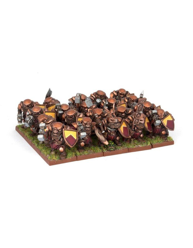 Mantic Games Dwarfs: Ironclad Regiment