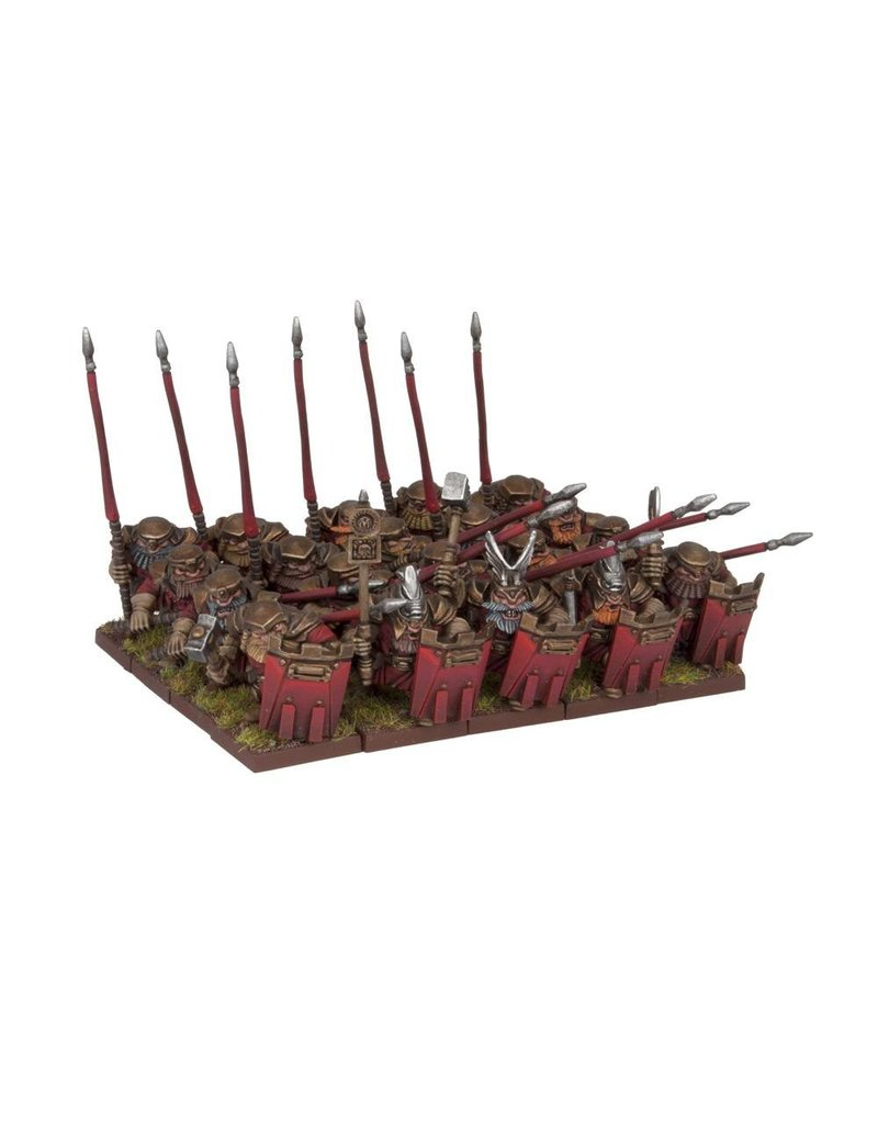 Mantic Games Dwarfs: Bulwarker Regiment