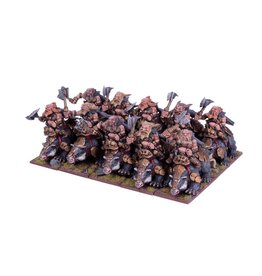 Mantic Games Dwarf Berserker Brock Riders Regiment