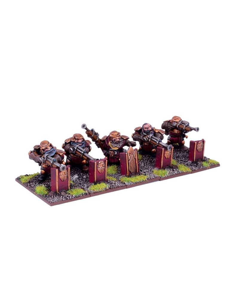 Mantic Games Dwarfs: Sharpshooter Troop