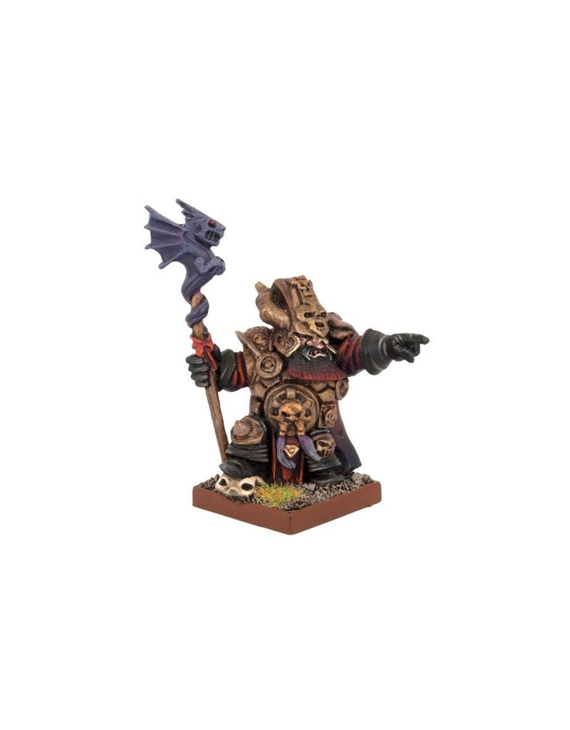 Mantic Games Abyssal Dwarf Ghenna, Keeper of the Black Flame