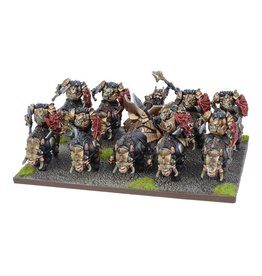 Mantic Games Abyssal Dwarf Slave Orc Gore Rider Regiment