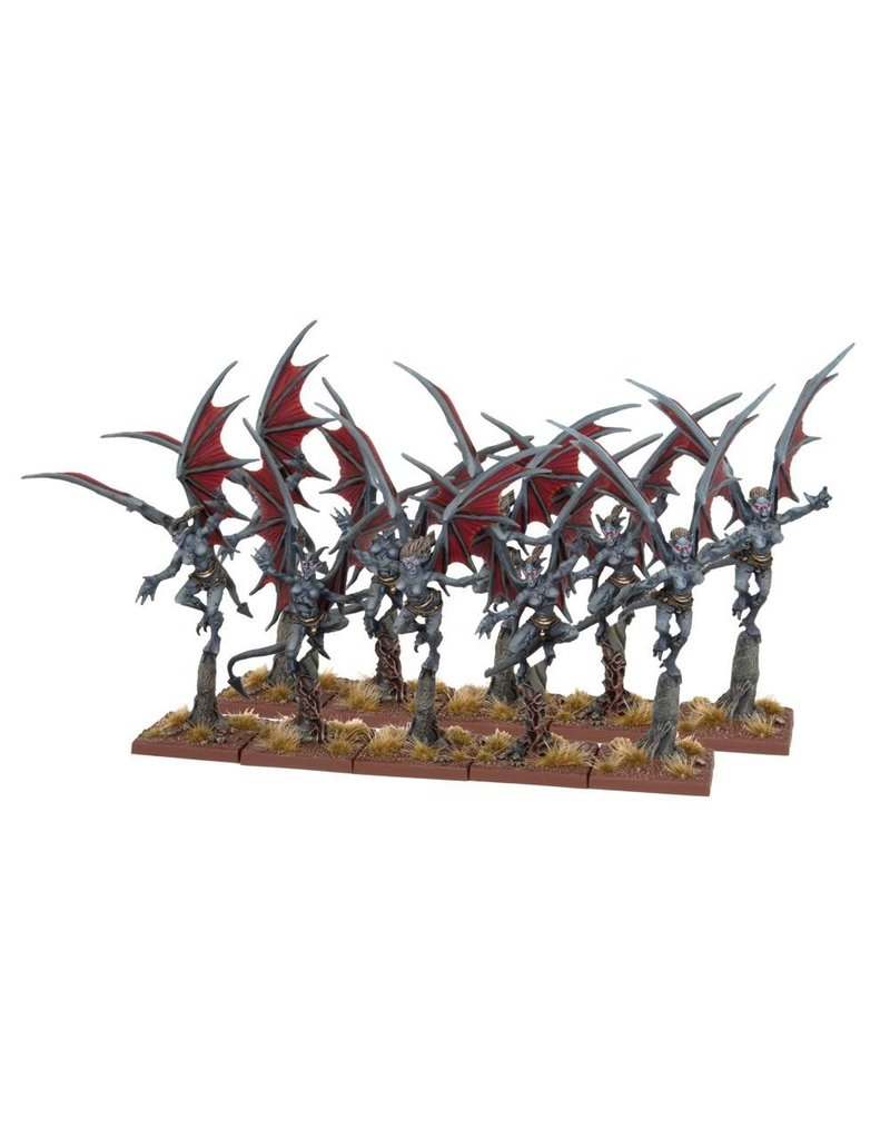 Mantic Games Abyssal Dwarfs: Gargoyle Troop