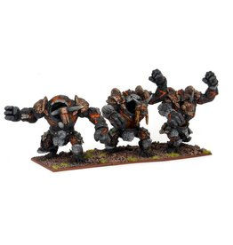Mantic Games Abyssal Dwarf Lesser Obsidian Golem Regiment