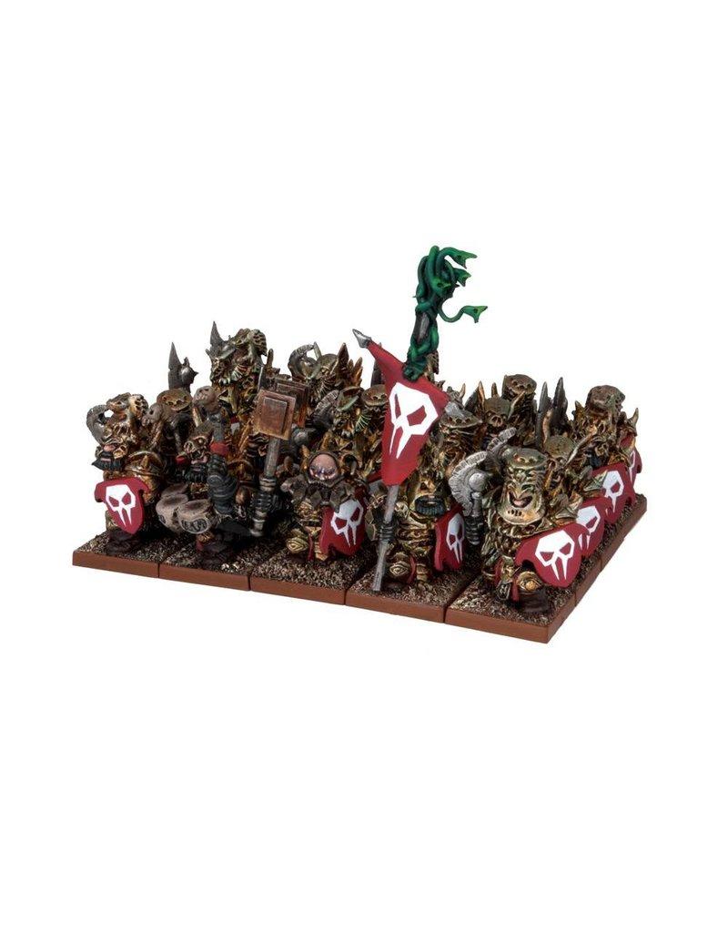 Mantic Games Abyssal Dwarfs: Immortal Guard Regiment