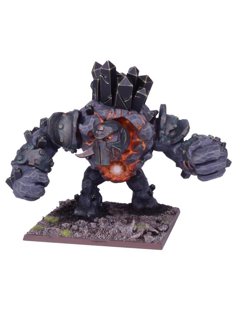 Mantic Games Abyssal Dwarfs: Greater Obsidian Golem