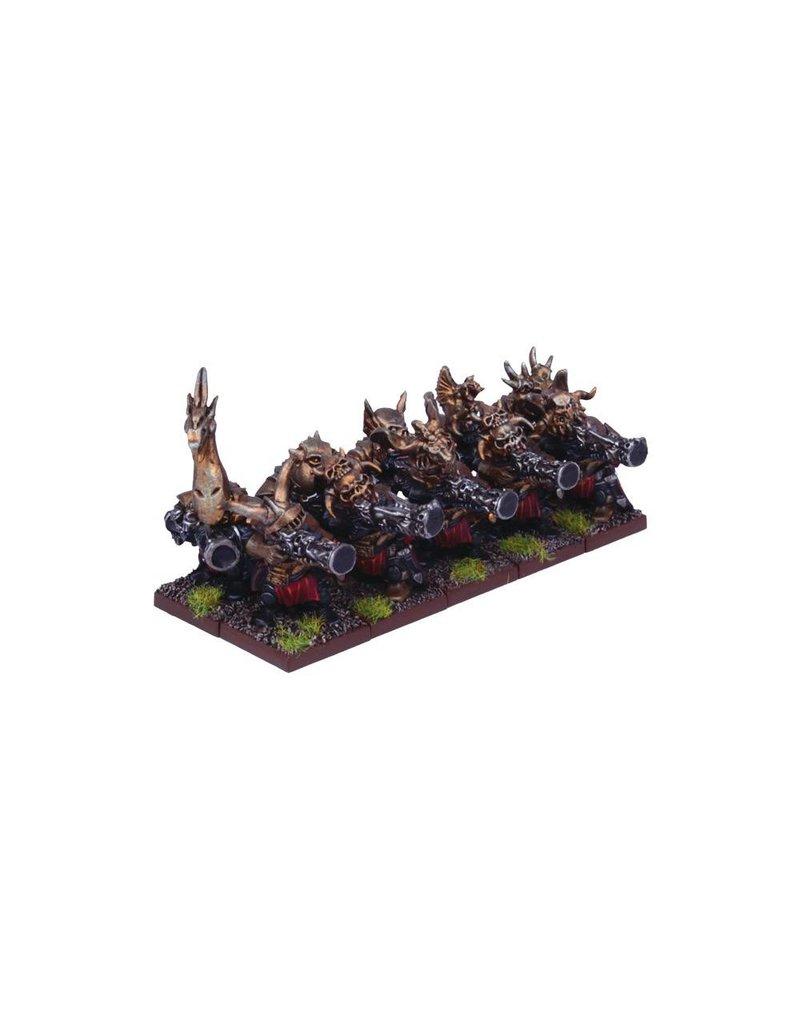 Mantic Games Abyssal Dwarfs: Decimator Troop
