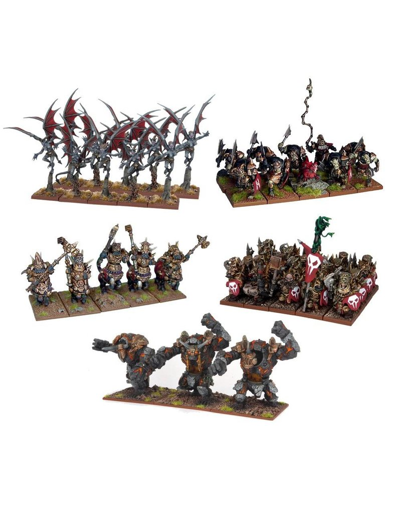 Mantic Games Abyssal Dwarfs:s: Army (OOP)