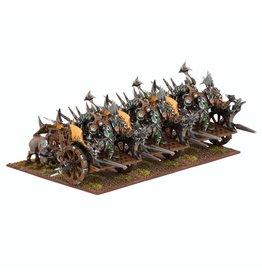 Mantic Games Orc Fight Wagon Regiment