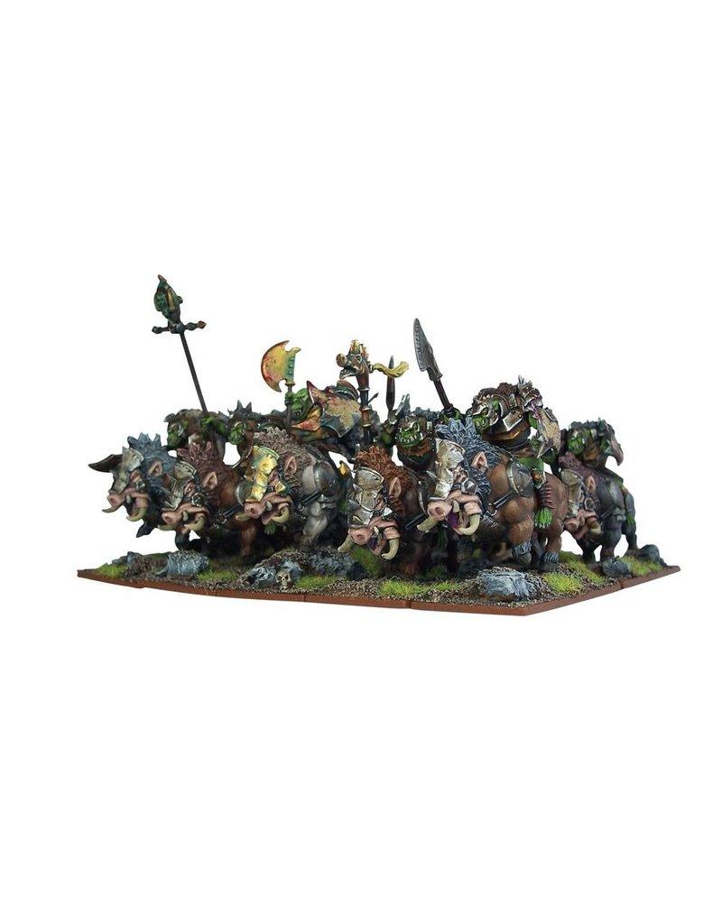 Mantic Games Orcs: Gore Riders