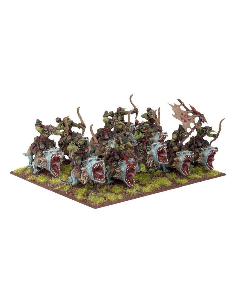 Mantic Games Goblins: Fleabag Rider Sniff Regiment