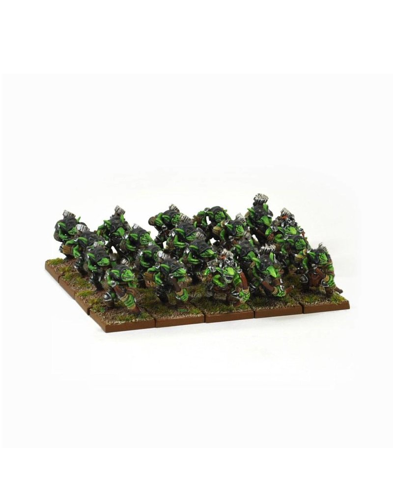 Mantic Games Goblins: Spitters Regiment