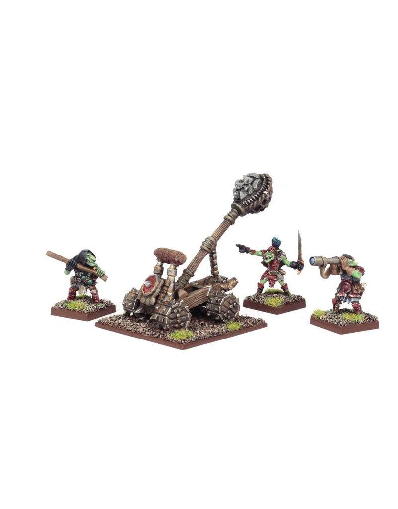 Mantic Games Goblins: Big Rocks Thrower