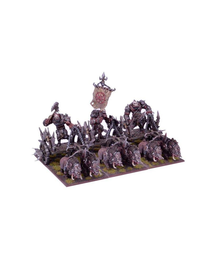 Mantic Games Ogres: Chariot Regiment