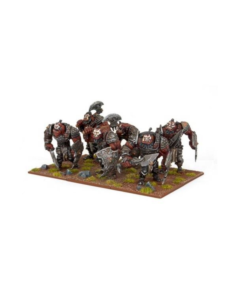 Mantic Games Ogres: Warrior Horde