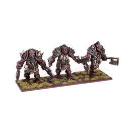 Mantic Games Ogre Berserker Brave Regiment