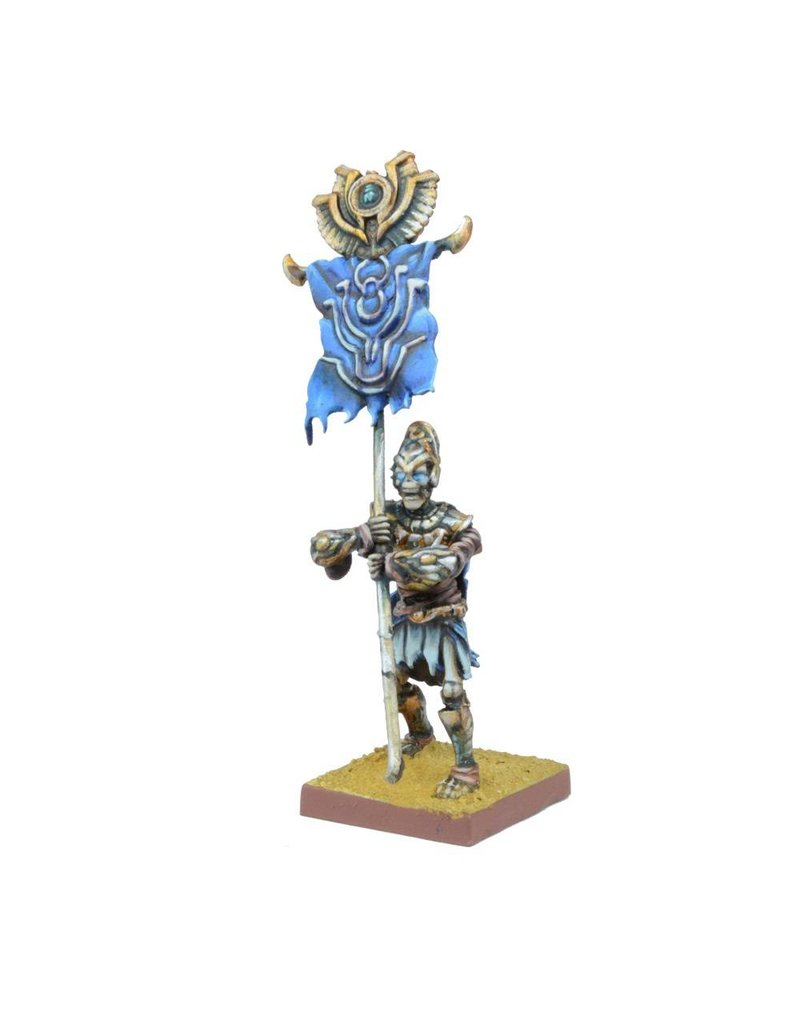 Mantic Games Empire of Dust: Revenant Champion/Army Standard Bearer