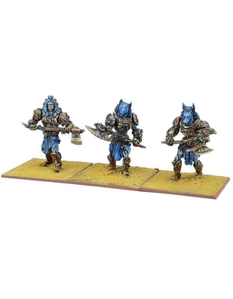 Mantic Games Empire of Dust: Enslaved Guardian Regiment