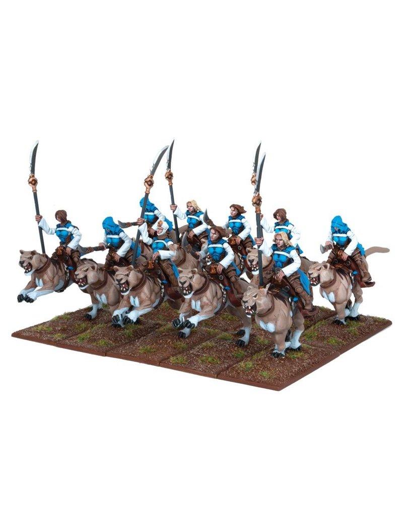 Mantic Games Basilean: Sisterhood Panther Lancer Regiment