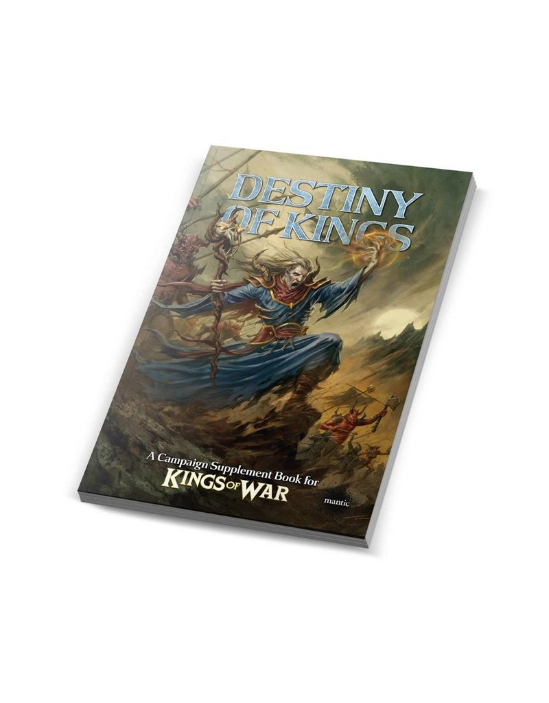 Mantic Games The Destiny of Kings - Kings of War Campaign Supplement