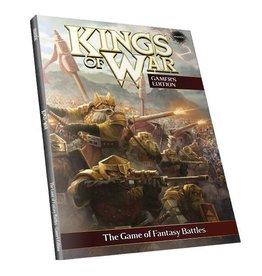 Mantic Games Kings of War 2nd Edition Softback Rulebook