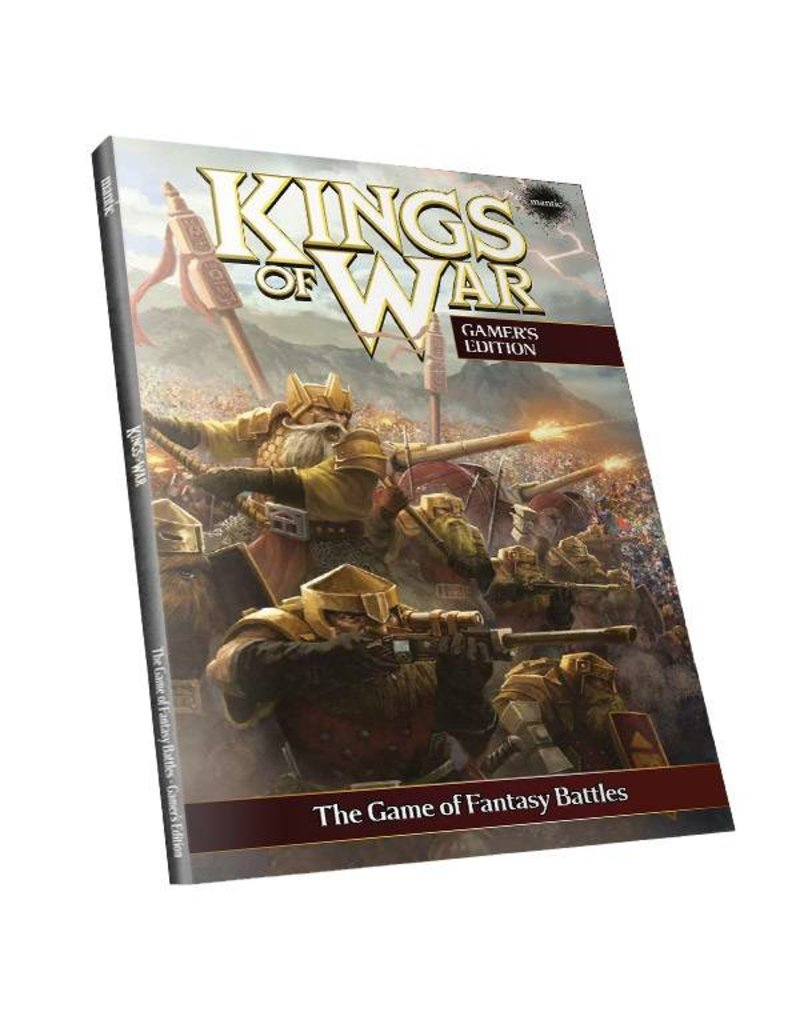 Mantic Games Kings of War 2nd Edition Softback Rulebook
