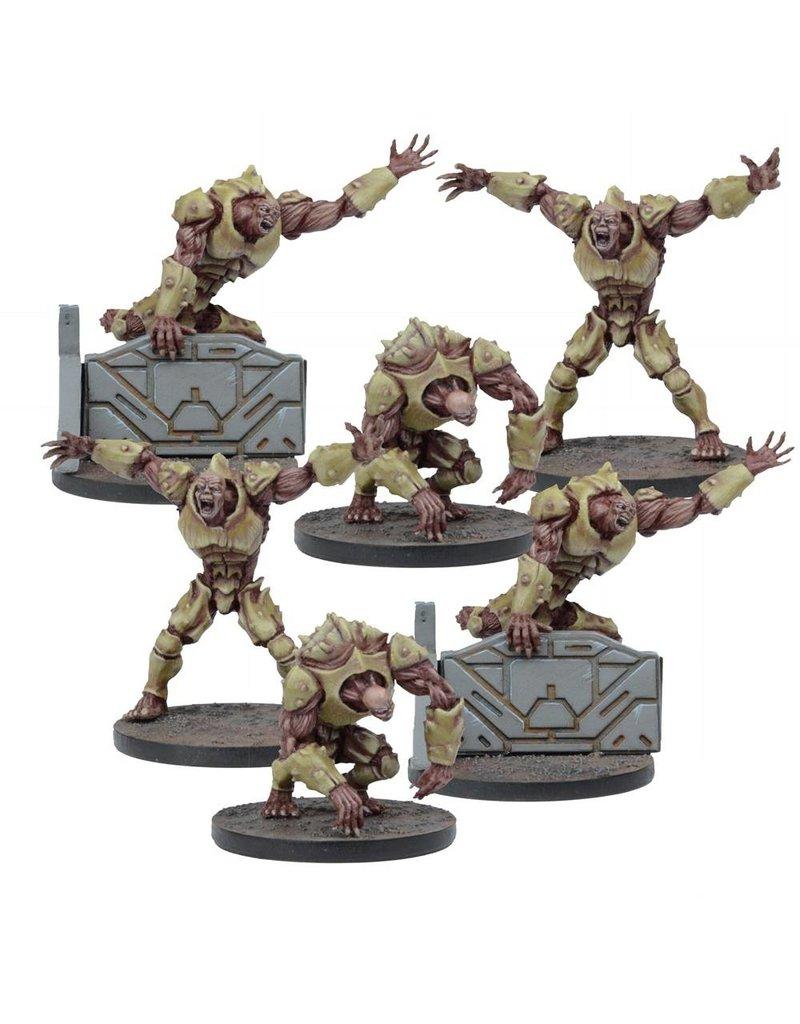 Mantic Games Warpath / Deadzone: Plague 2nd Gen Mutants