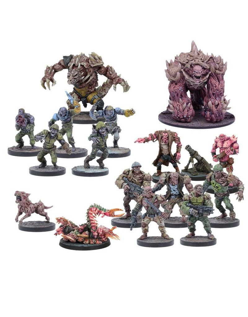 Mantic Games Warpath /Deadzone: Plague Faction Booster Box Set