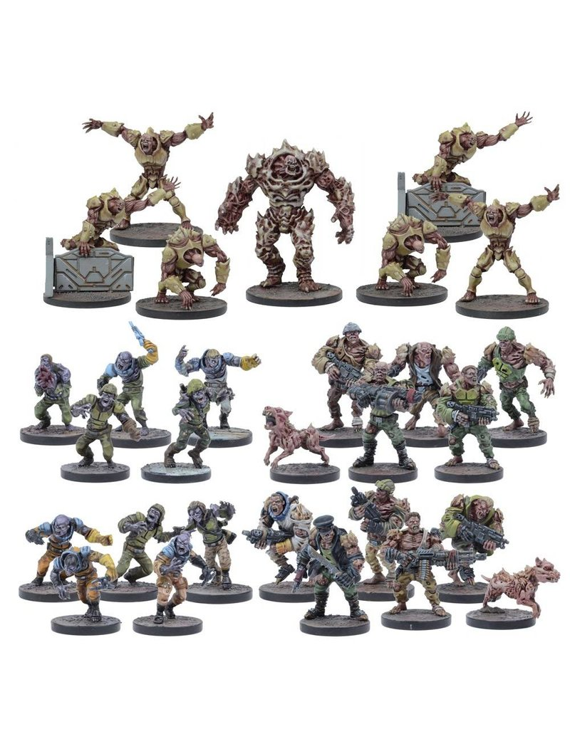 Mantic Games Deadzone / Warpath: Plague Faction Starter Box Set