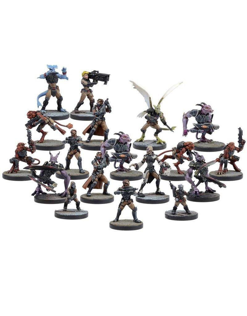 Mantic Games Deadzone: Rebs Faction Booster Box Set